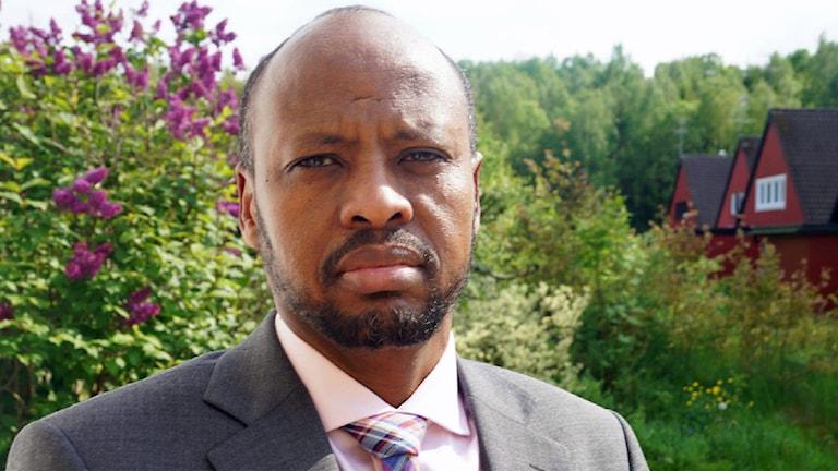 Abshir Osman. Foto: Kasim Abdulkadir/Sveriges Radio.