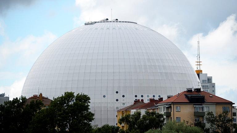 Globen. Foto: Vilhelm Stokstad/TT