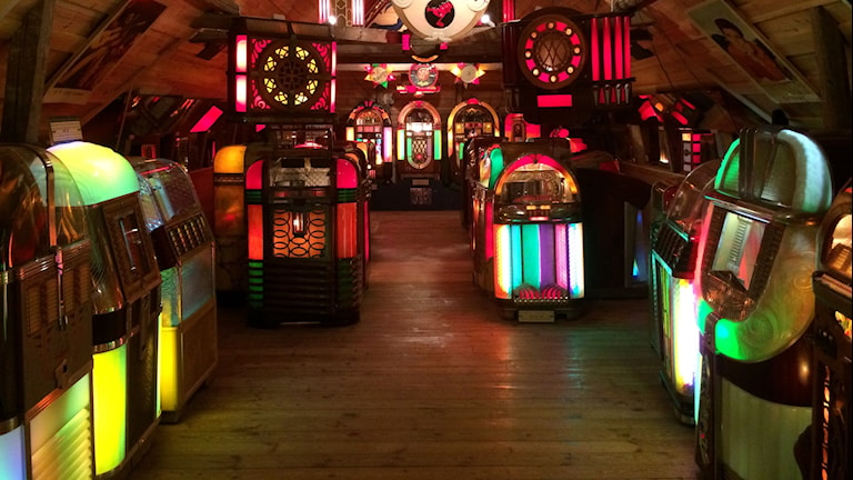 Jukebox-museum i Sparreholm. Foto: Andreas Johnsson/Sveriges Radio