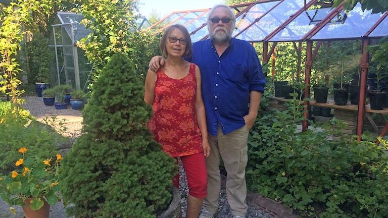 Christina Örn Nömm och Hugo Nömm. Foto: Andreas Johnsson/Sveriges Radio