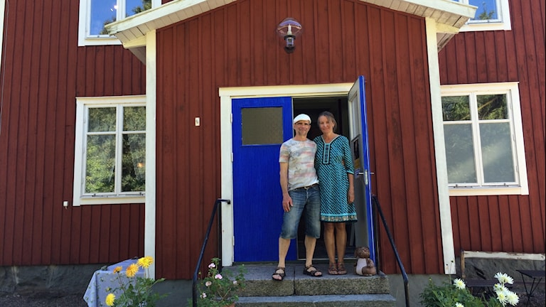 Catarina Vilhelmsson och Martin Sjöberg. Foto: Andreas Johnsson/Sveriges Radio.