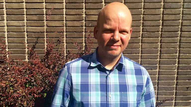 Gabriel Billing. Foto: Katarina Larsson/Sveriges Radio.