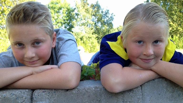 Melwin Strandh och Thomas Ekerwall Andersson. Foto: Kristin Insulander Ekberg.