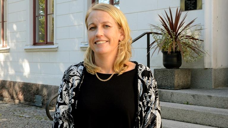 Åsa Kullgren. Foto: Urban Hedqvist/Sveriges Radio.