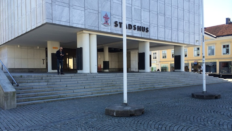 Nyköpings stadshus. Foto: Katarina Wahlström/Sveriges Radio.