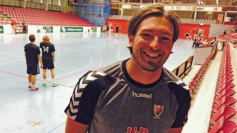 Helge Freiman i Guif. Foto: Felix Andersson/Sveriges Radio.
