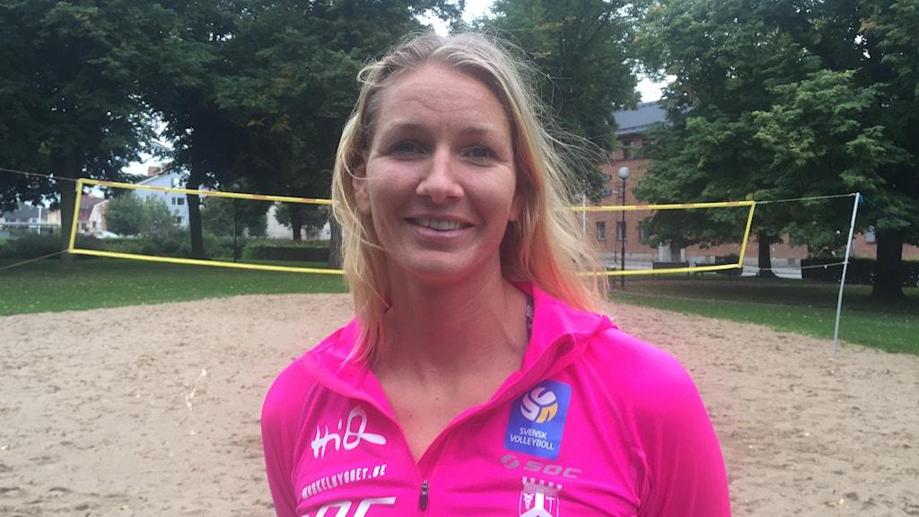 Karin Lundqvist. Foto: Josefin Lundin/Sveriges Radio.