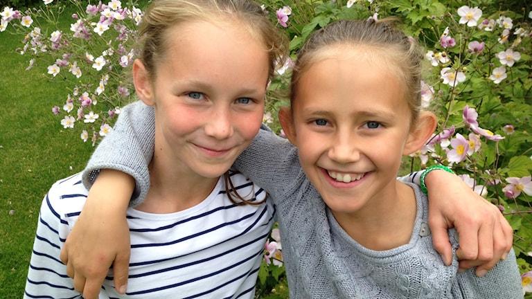 Kusinerna Greta och Alice Basilius. Foto: Svante Ekberg.