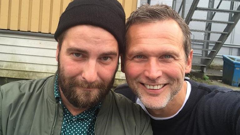 Nisse Hvidfeldt och Rickard Sjöberg. Foto: Rickard Sjöberg.