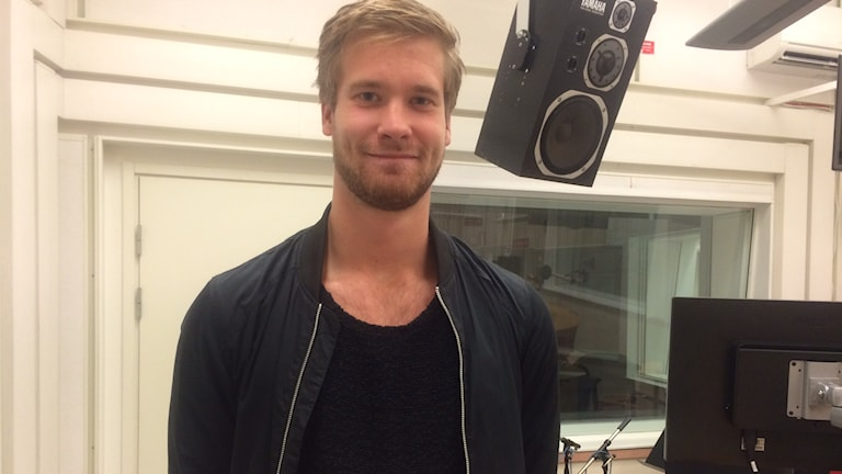 Viktor Östlund. Foto:Titti Hildebrand/Sveriges Radio.