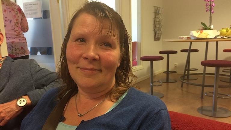 Lisa Hollström. Foto: Katarina Larsson/Sveriges Radio.