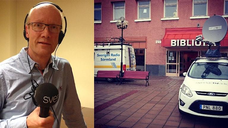 Urban Hedqvist. Foto: Evelina Crabb/Sveriges Radio.
