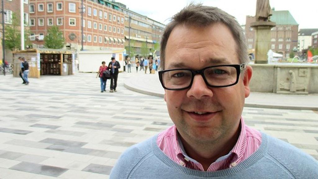 Jari Puustinen. Foto: Michael Berwick/Sveriges Radio.