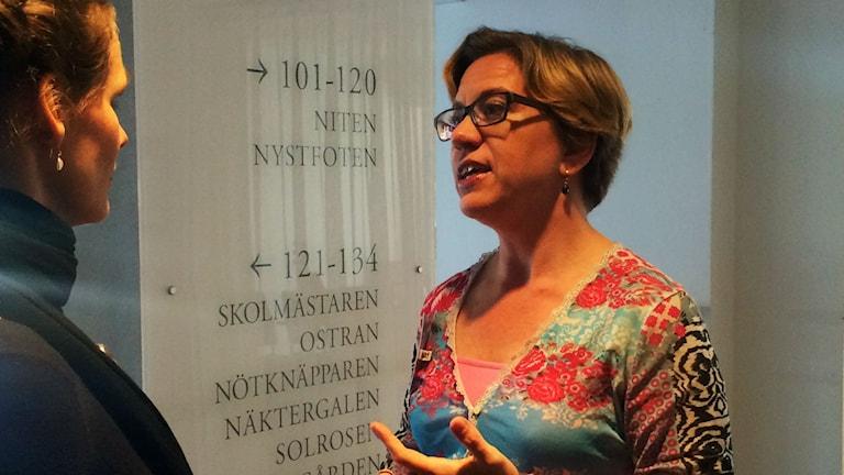 Maria Mattson Mähl. Foto: Annizeth Åberg/Sveriges Radio