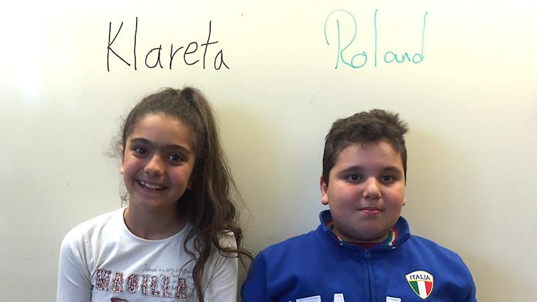 Klareta Yacoub och Roland Bahhi. Foto: Svante Ekberg.