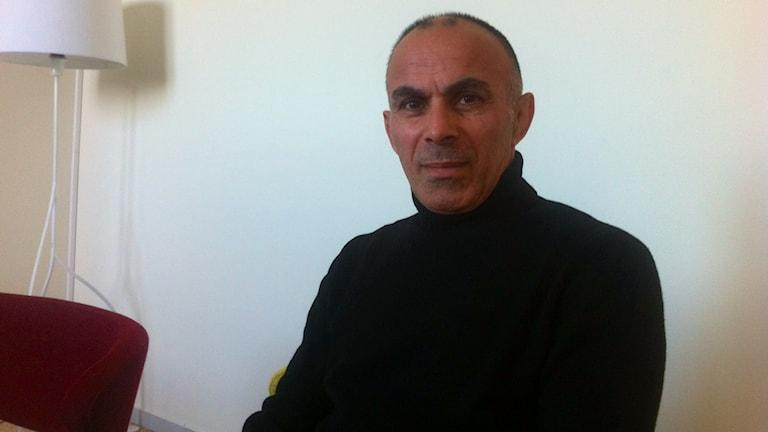 Bahram Seifkhani. Foto: Ludvig Drevfjäll/Sveriges Radio