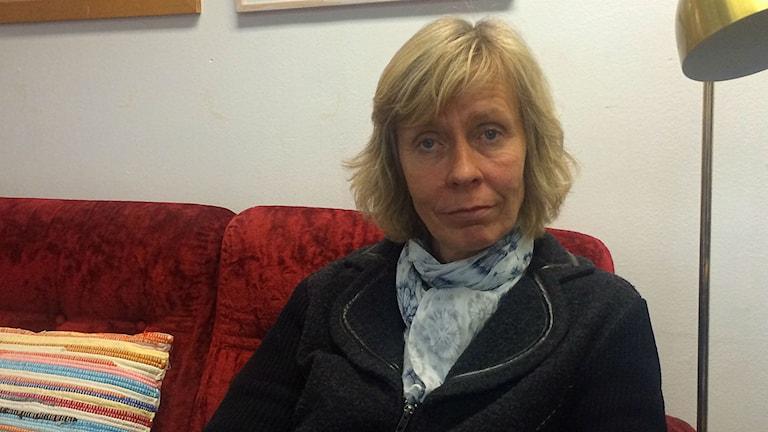Gunilla Celing Johansson. Foto: Annizeth Åberg/Sveriges Radio