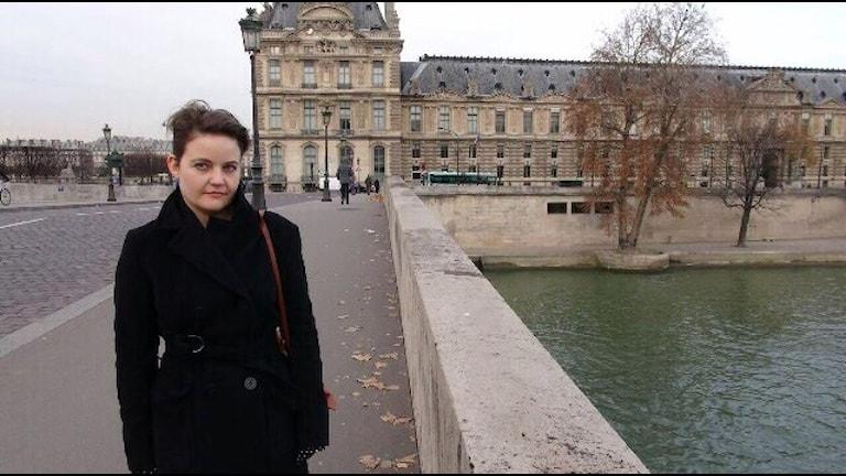Martina Pfriem från Katrineholm har bott i Paris i nio år. Foto: Privat.
