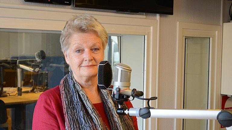 Ursula Thieme, ordförande i SPES Sörmland. Foto: Urban Hedqvist/Sveriges Radio