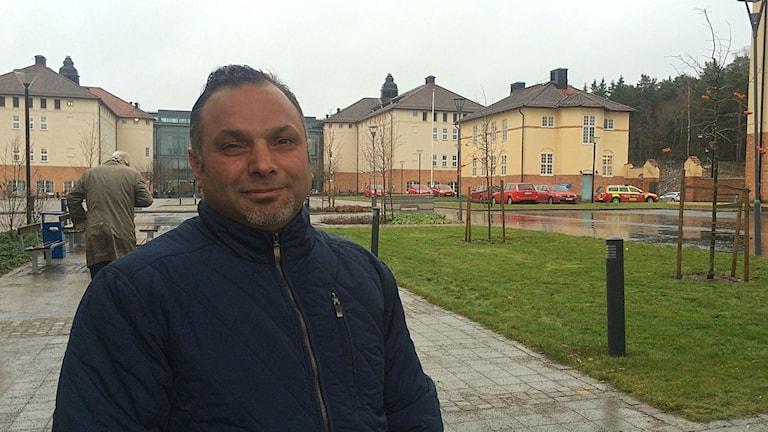 Dawod Mohammad. Foto: Annizeth Åberg/Sveriges Radio