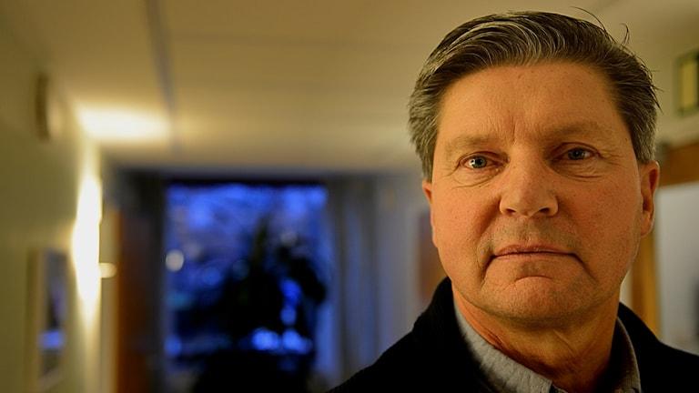 Mats Widén, finanschef Landstinget Sörmland. Foto: Per Thyrén/Sveriges Radio.