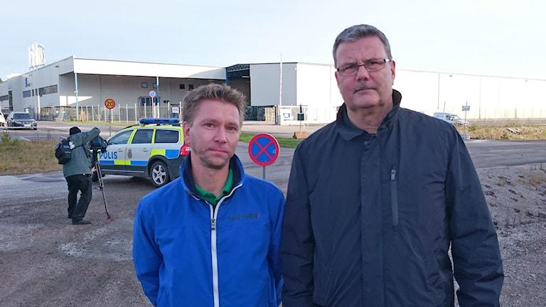 Magnus Josefsson och Lars Karlsson. Foto: Urban Hedqvist/Sveriges Radio