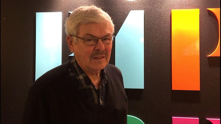 Rolf Rehnholm. Foto: Jarmo Mänty, Sveriges Radio.