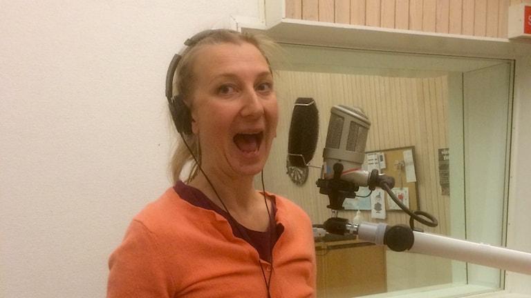 Elina du Rietz. Foto: Susanne Lindkvist Eriksson/Sveriges Radio.