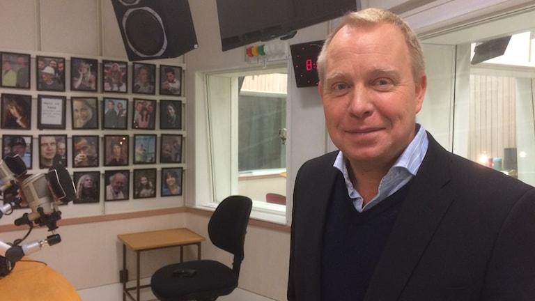 Jens Persson, ordförande i Sörmlands Fotbollsförbund. Foto: Jonas Carnesten/Sveriges Radio
