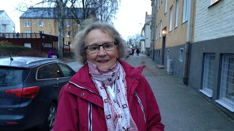 Siv Tapper. Foto: Evelina Crabb/ SR P4 Sörmland.