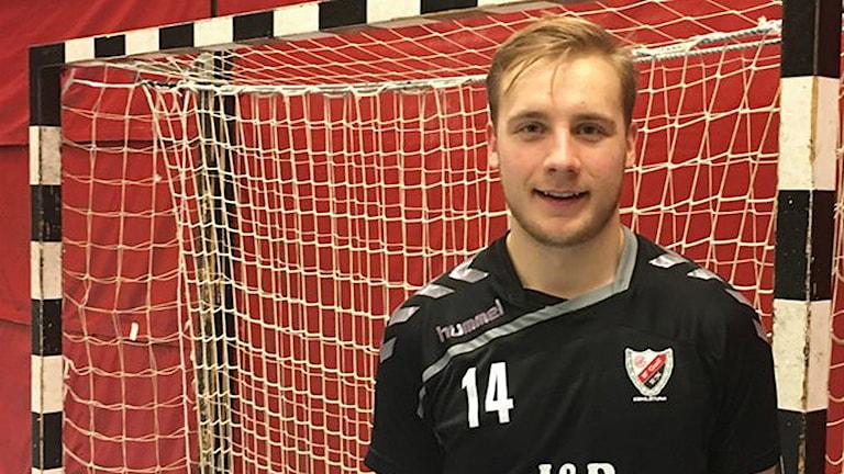 Daniel Petersson en av Guifs många matchvinnare på annan dagen. Foto: Hugo Wennström/Sveriges radio.