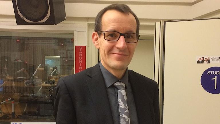 Tomas Lindroos. Foto: Johanna Jennische/Sveriges Radio