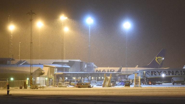 Skavsta flygplats. Foto: Pontus Stenberg