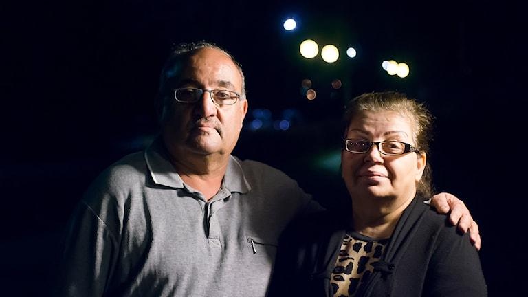 Muayad och Aseen Naser. Foto: David Nilsson Hamne.