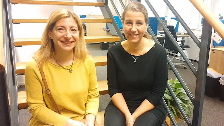 mona kaanan, Sara Molander.  Foto: Ingela Martinsgård, Sveriges Radio