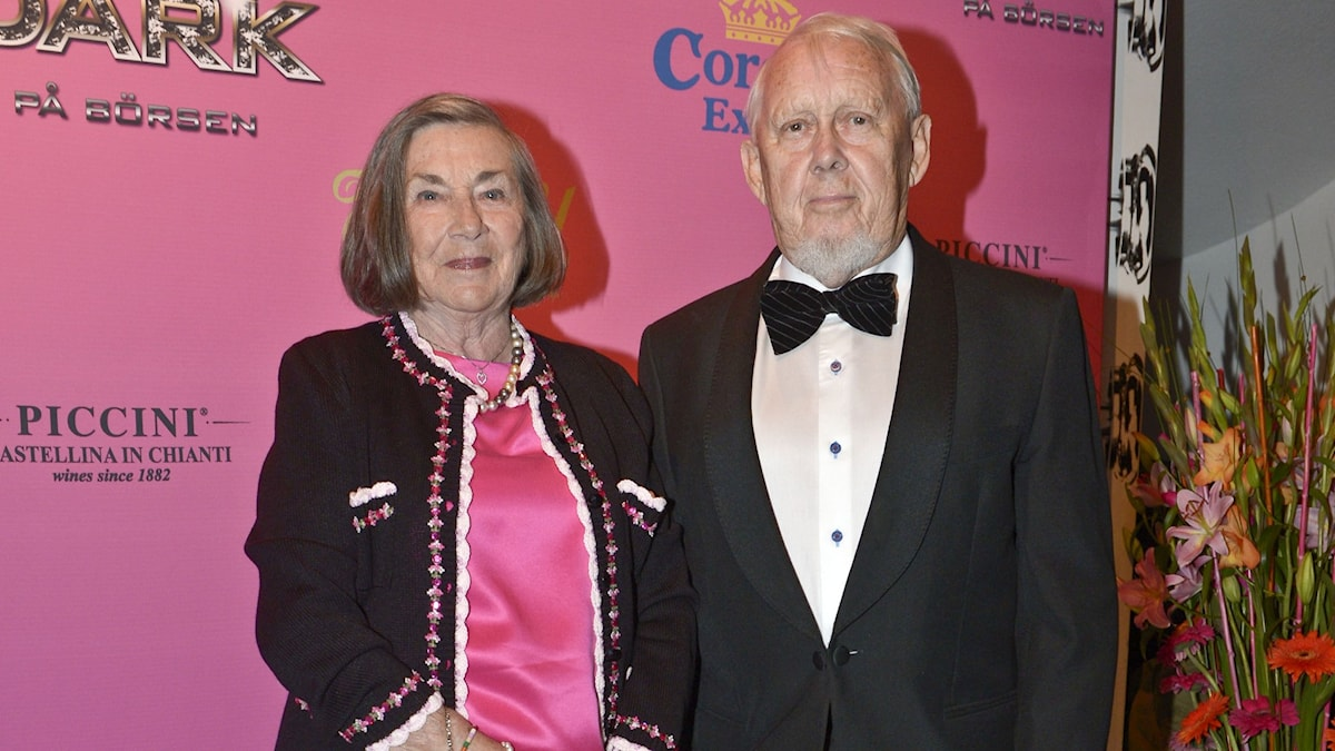 Bert Lindarw med fru