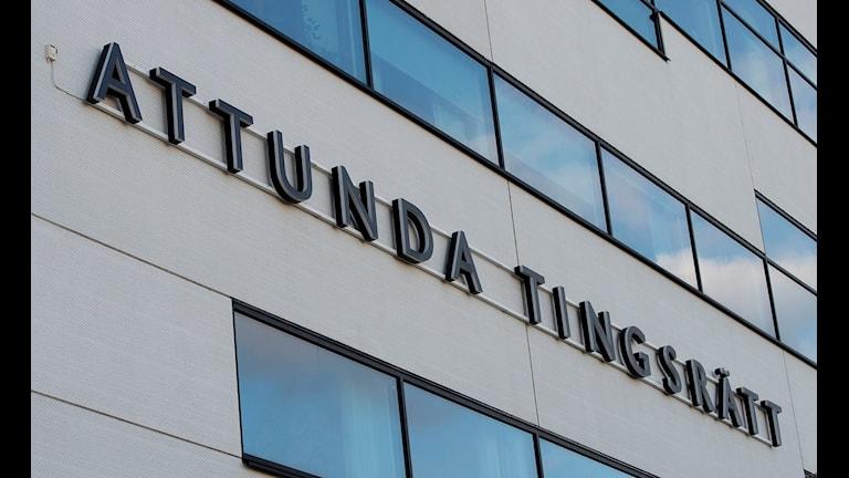 Attunda tingsrätt i Sollentuna. Foto: Maja Suslin/TT.