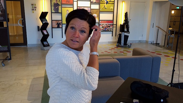 Marie Svensson, S. Foto: Reino Helin/Sveriges Radio.