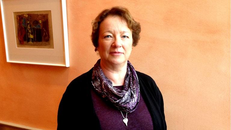 Solveig Lampe, personaldirektör landstinget Sörmland. Foto: Urban Hedqvist/Sveriges Radio