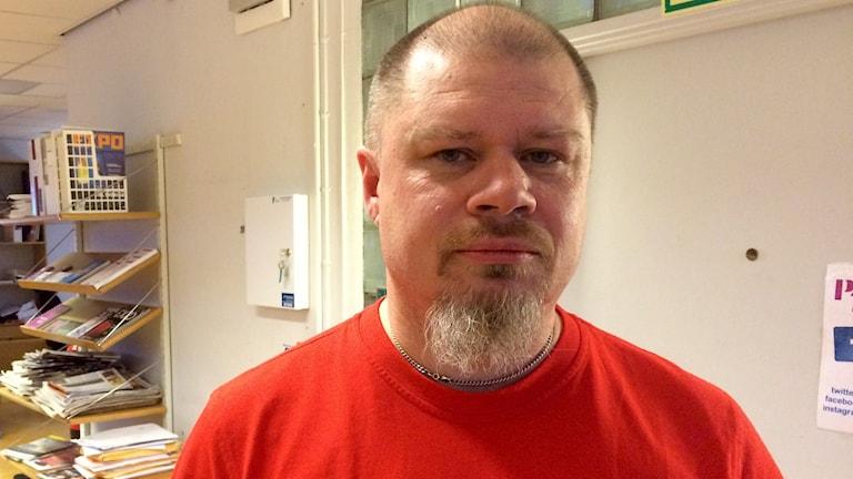 Hans Andersson. Foto: Katarina Larsson/Sveriges Radio.