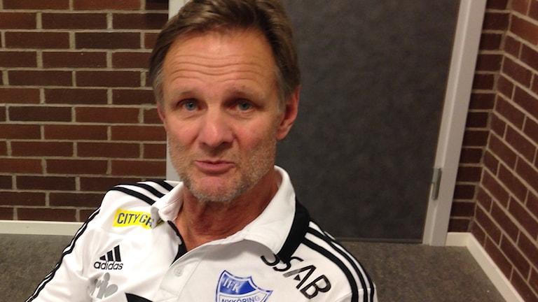 Kent Karlsson, tränare i IFK Nyköping.Foto Leif Johansson P4 Sörmland