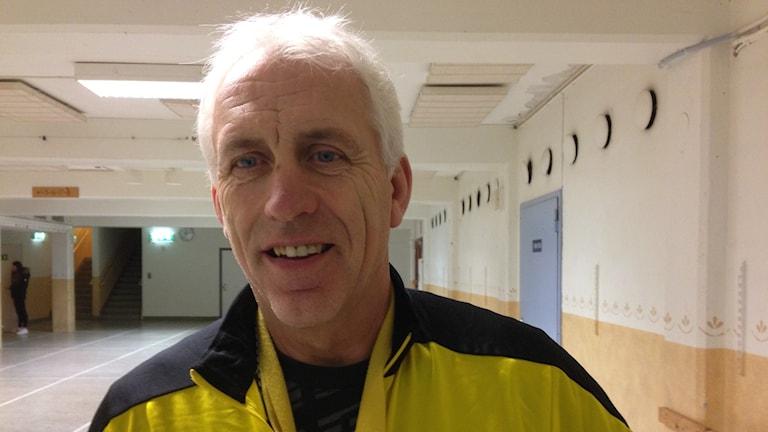 Gnestas tränare Owe Holmberg. Foto Leif Johansson P4 Sörmland