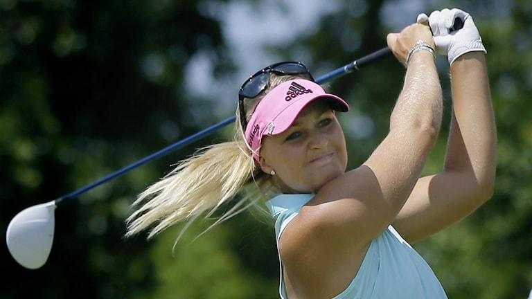 Anna Nordqvist, Foto: Danny Johnston AP/TT