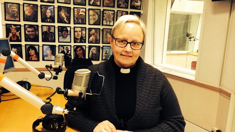 Eeva- Liisa Kettunen, samordnare jourhavande präst Strängnäs Stift. Foto: Titti Hildebrand