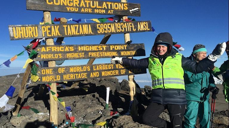 Anna Eklöf, tanzania-guide och äventyrare från Malmköping.