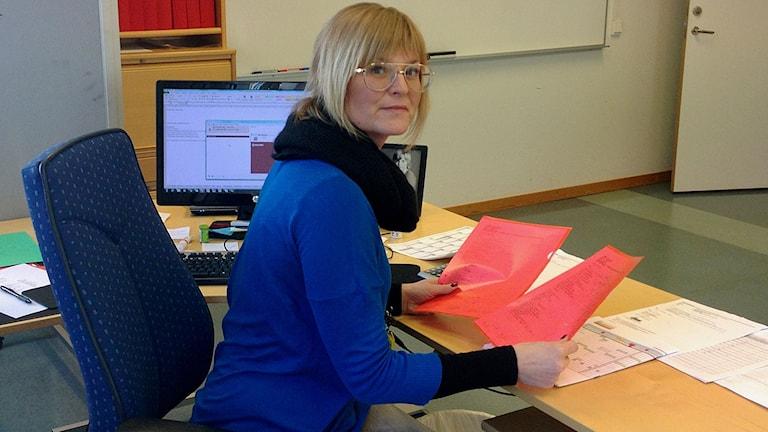 Sofie Wahlberg, administratör IUC i Katrineholm.