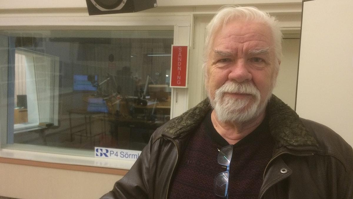 Börje Carlsson, fd polis. Jonas Carnesten/Sveriges Radio.