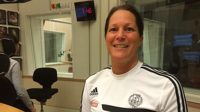 Åsa Ekdahl, sportchef i EGF.
