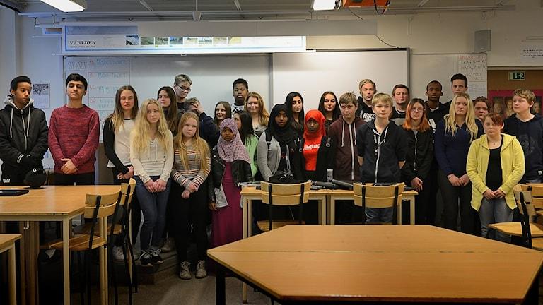 Eleverna på Slottsskolan i Vingåker vill att deras kompisar, Leyle och Ali Cano ska få komma tillbaka till Vingåker.