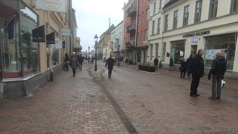 Västra Storgatan i Nyköping allmän bild
